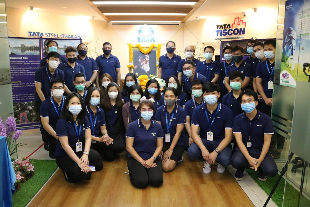 Tata Steel (Thailand) Group celebrated Founder's Day 2021.